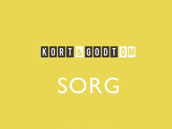 KORT & GODT OM SORG – boganmeldelse