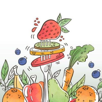 Anti-inflammatorisk kost og livsstil
