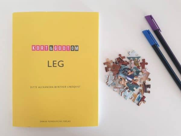 """""""Kort & Godt Om Leg"""" – boganmeldelse"""